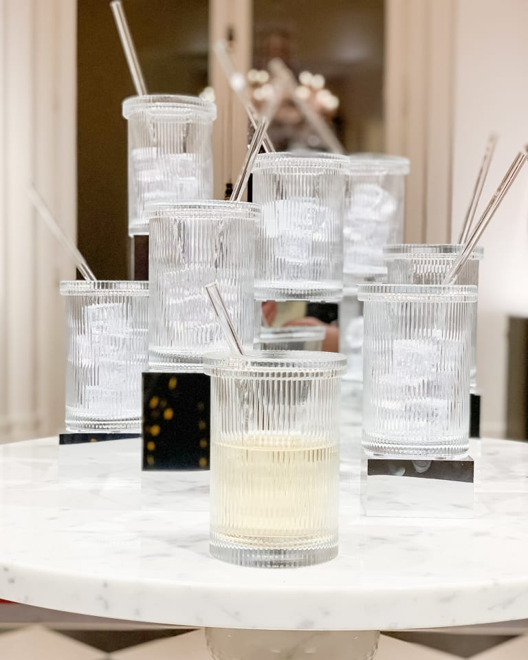 """""""Crystal Clear"""" objects for the home, care of Virgil Abloh"""