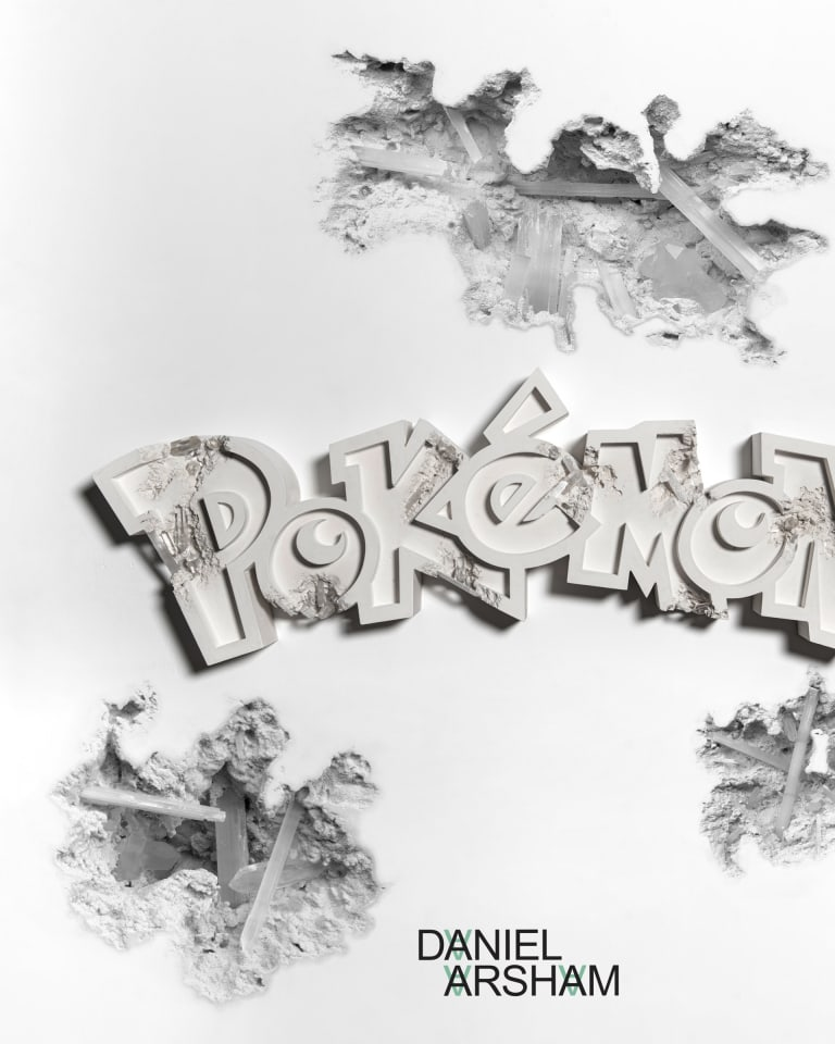 © 2020 Pokémon. TM, ®Nintendo © Daniel Arsham Courtesy of Nanzuka