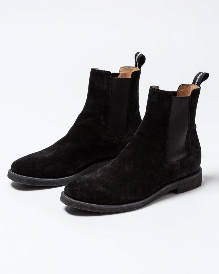 nonnative×MINEDENIM Side Gore Boots ブラック(税別8万5,000円)