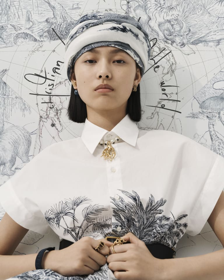 カプセルコレクション「Dior Around the World」