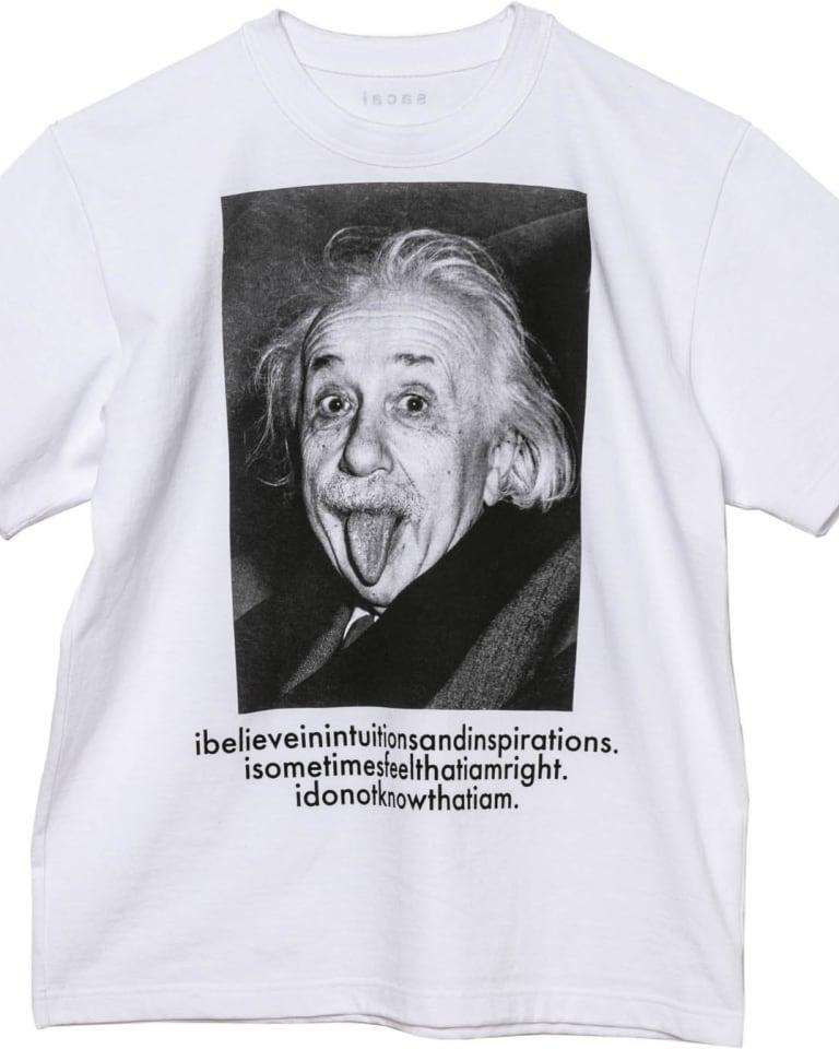 sacai x Einstein Tシャツ(税別2万2000円)