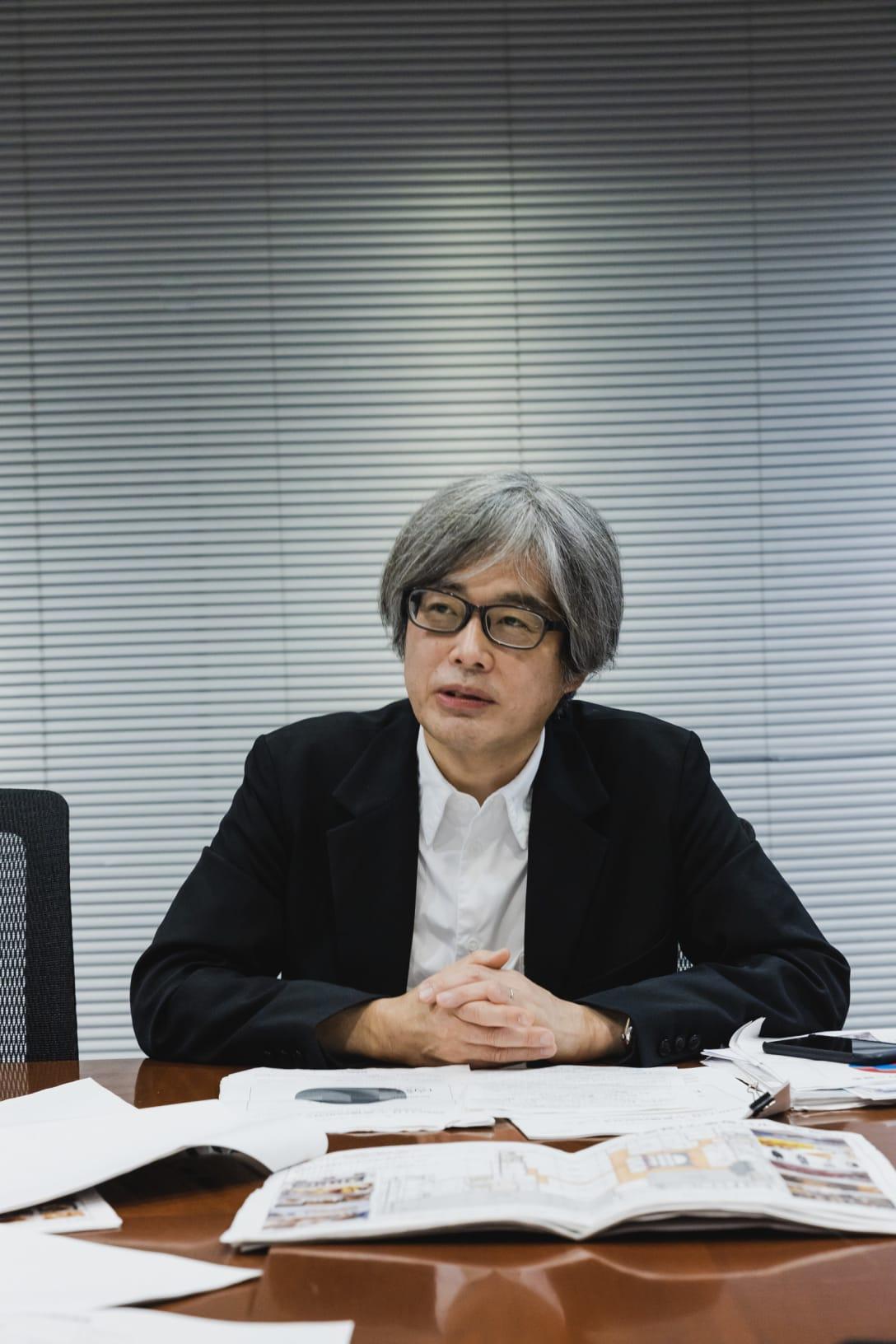 泉水隆氏 Image by FASHIONSNAP.COM
