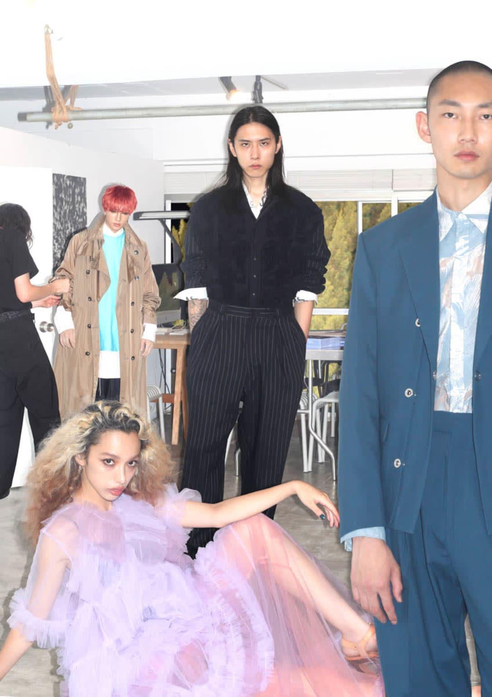「Rakuten Fashion Week TOKYO 2021 S/S」キーヴィジュアル ©Japan Fashion Week Organization