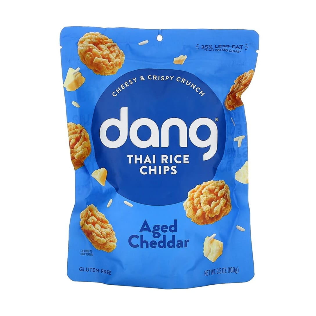 Dang, Thai Rice Chips, Aged Cheddar ¥414