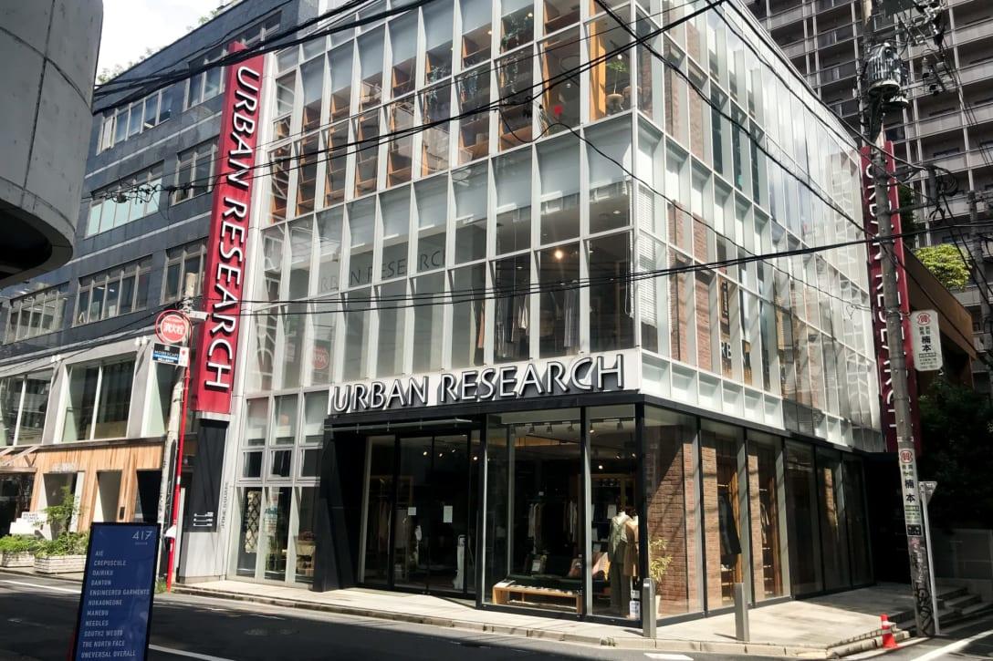 アーバンリサーチ 神南店 Image by FASHIONSNAP.COM