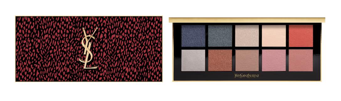 「パレット ドレスミー ワイルド」(1万3000円) (左2列)アイシャドウ、(左から3、4列目上段)ハイライター、(左から3、4列目下段)チーク、(最右列)チーク