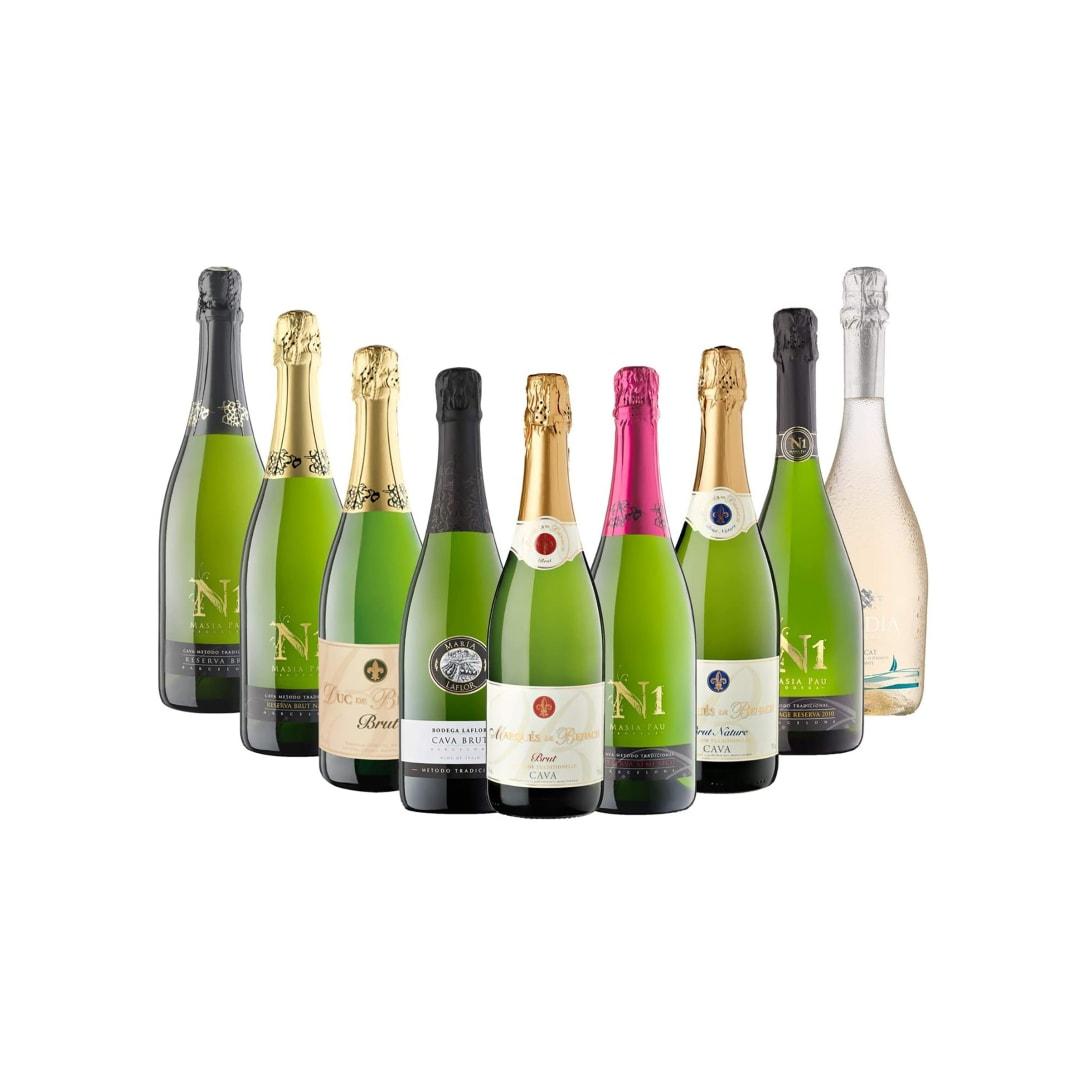 Maset del Lleó ぜんぶシャンパン製法の極上泡9本 しっかり飲み比べセット(9本入り)¥6,614