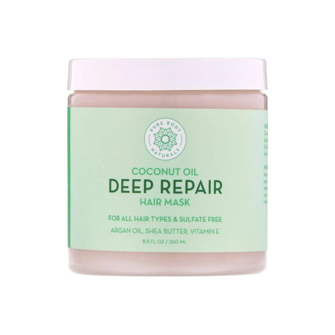 Pure Body Naturals Coconut Oil Deep Repair Hair Mask(260ml)¥1,365