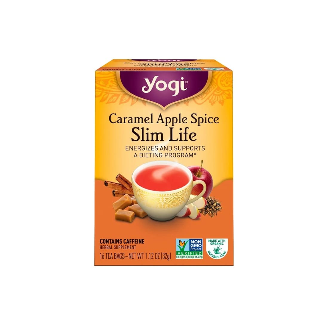 Yogi Tea Slim Life Caramel Apple Spice  (16包入り)¥454