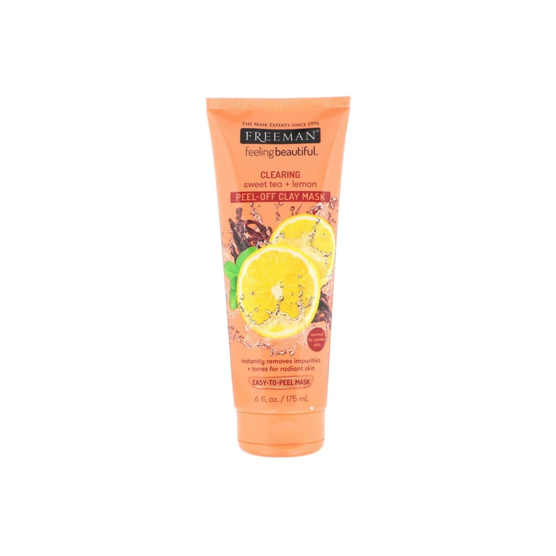 Freeman Beauty Feeling Beautiful Clearing Peel-Off Clay Mask Sweet Tea + Lemon(175ml)¥433