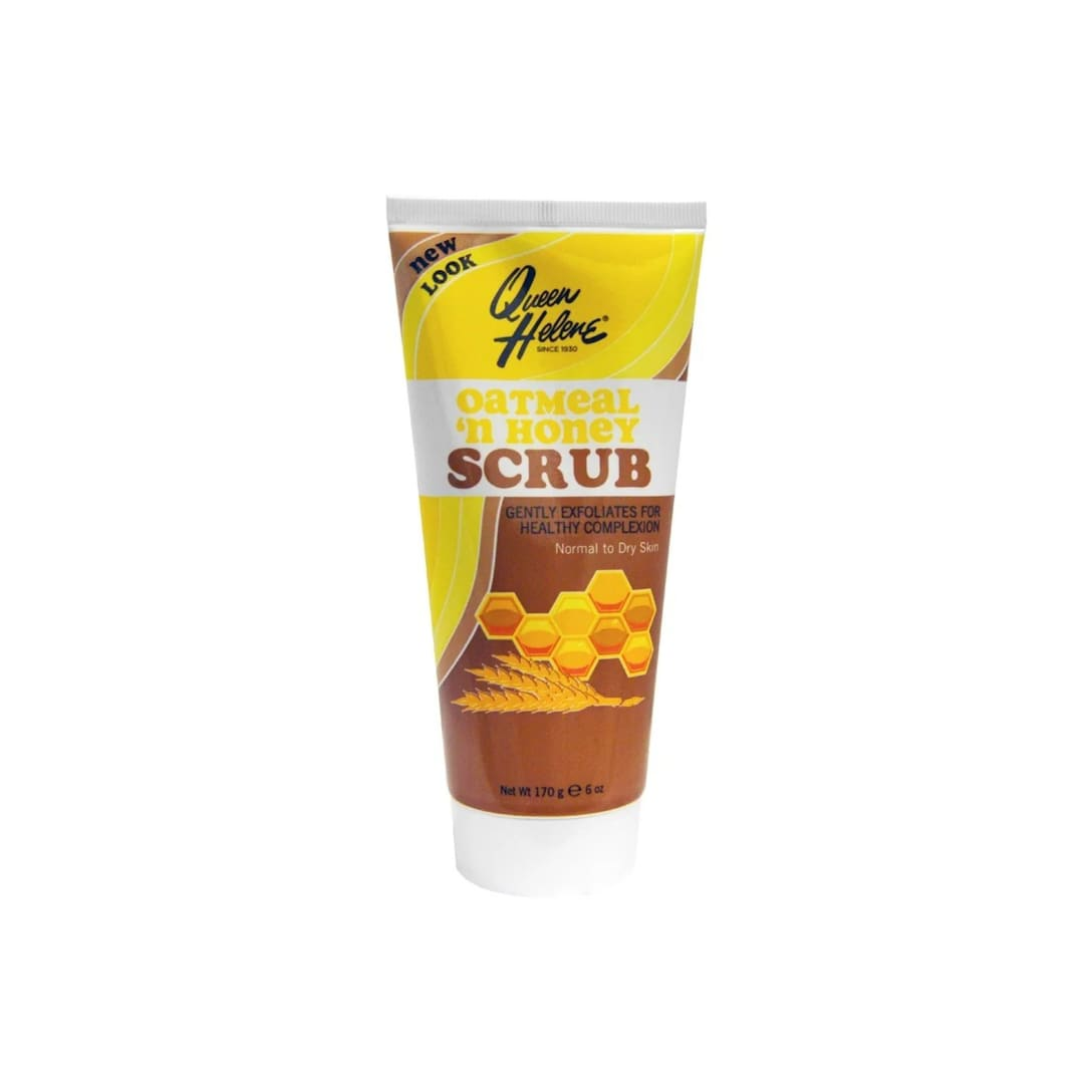 Queen Helene Scrub Normal to Dry Skin Oatmeal 'n Honey(170g)¥437