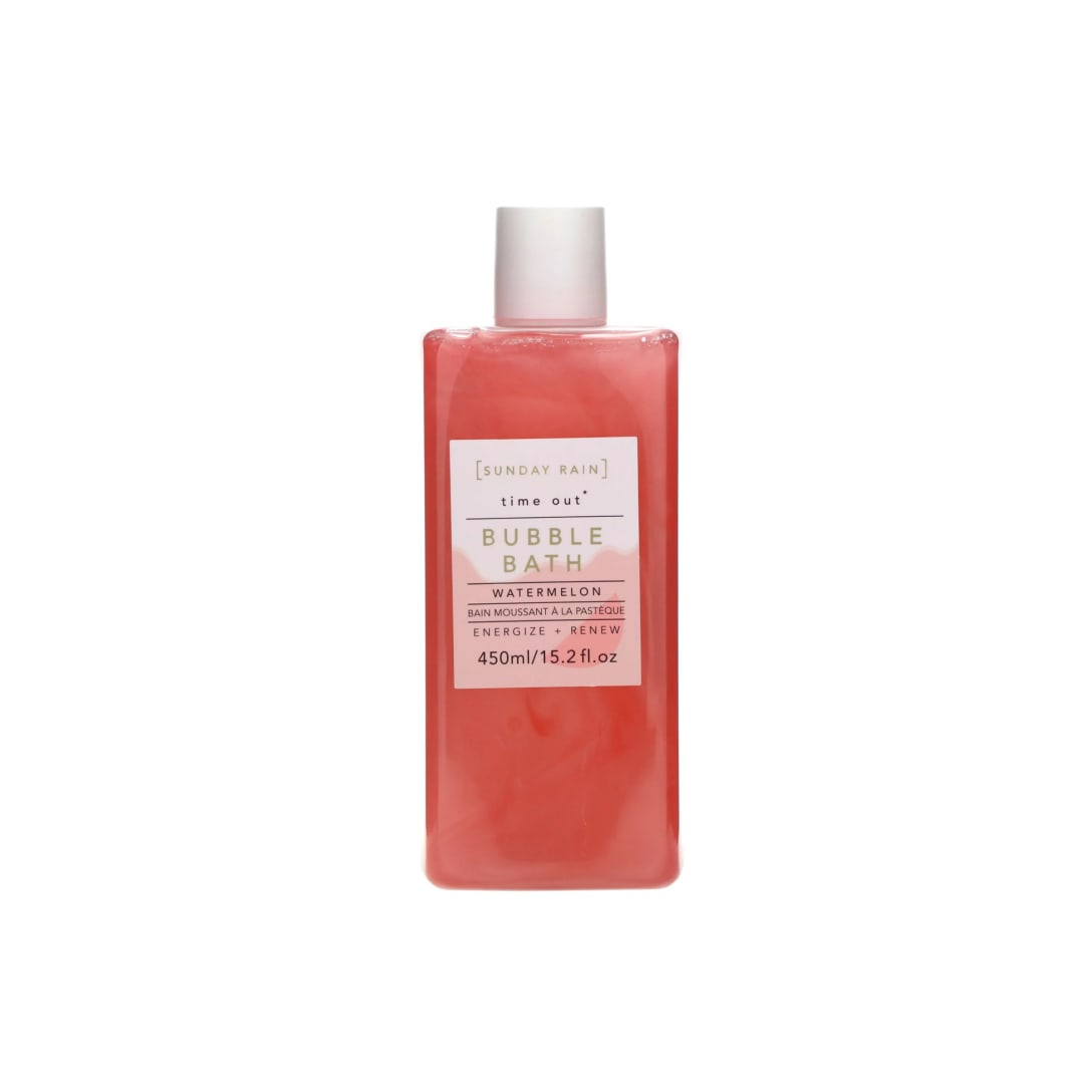 Sunday Rain Time Out Bubble Bath Watermelon(450ml)¥527