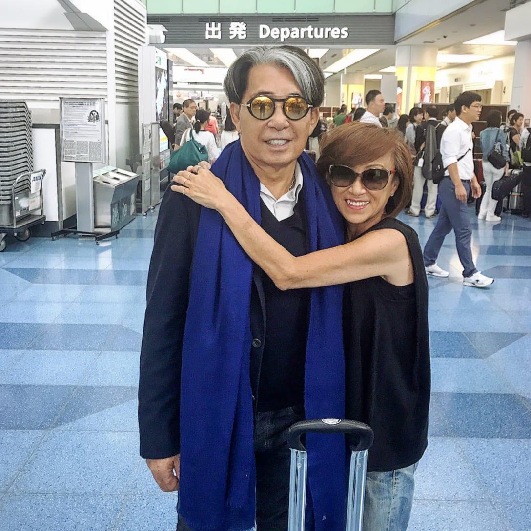 帰国時には、いつも空港までお迎えに(2019年、筆者提供)