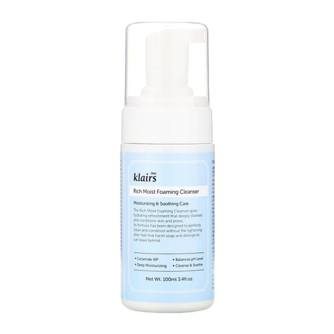 dear,klairs Rich Moist Foaming Cleanser(100ml)¥1,852