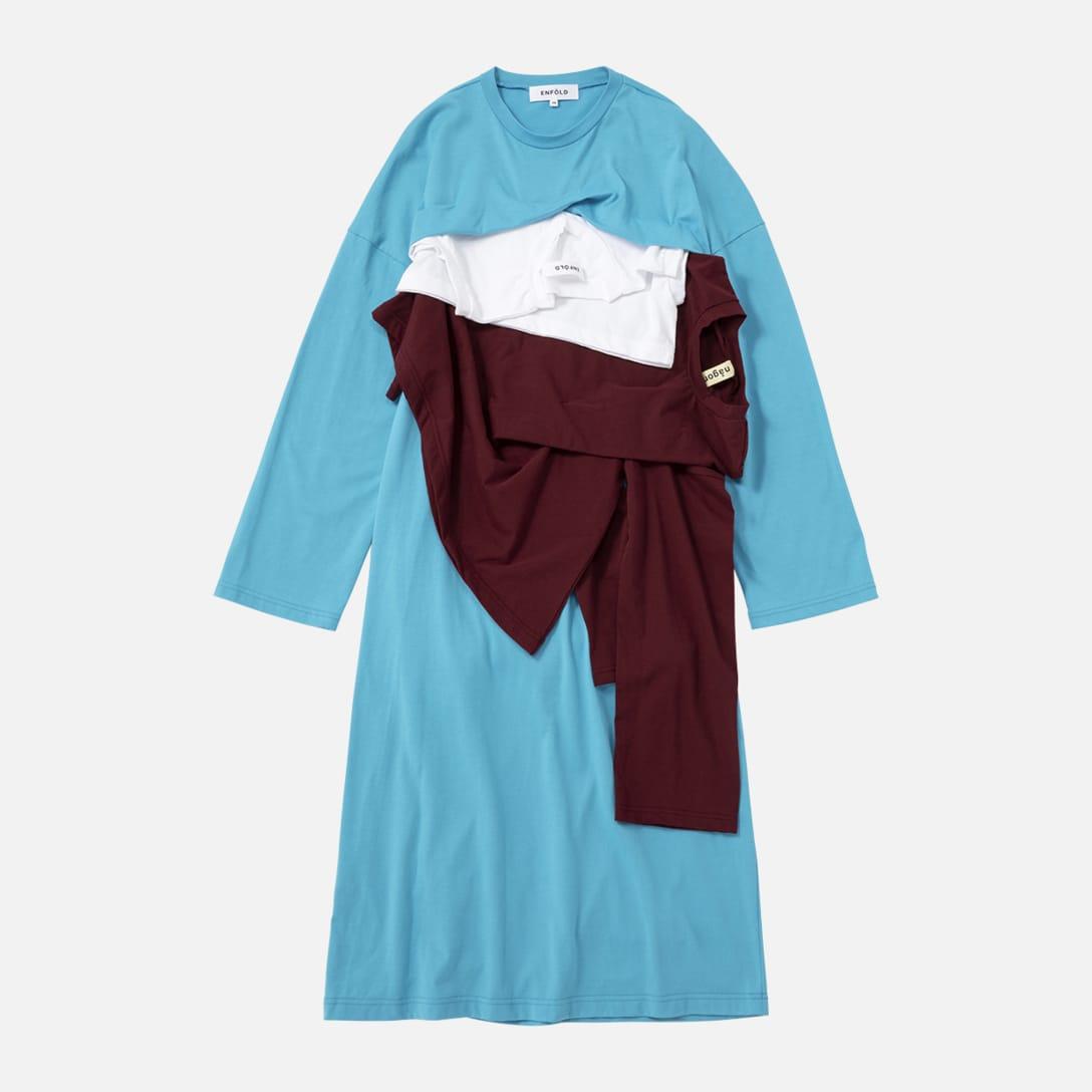 【限定】 Reconstruction CUT DRESS(3万9000円)