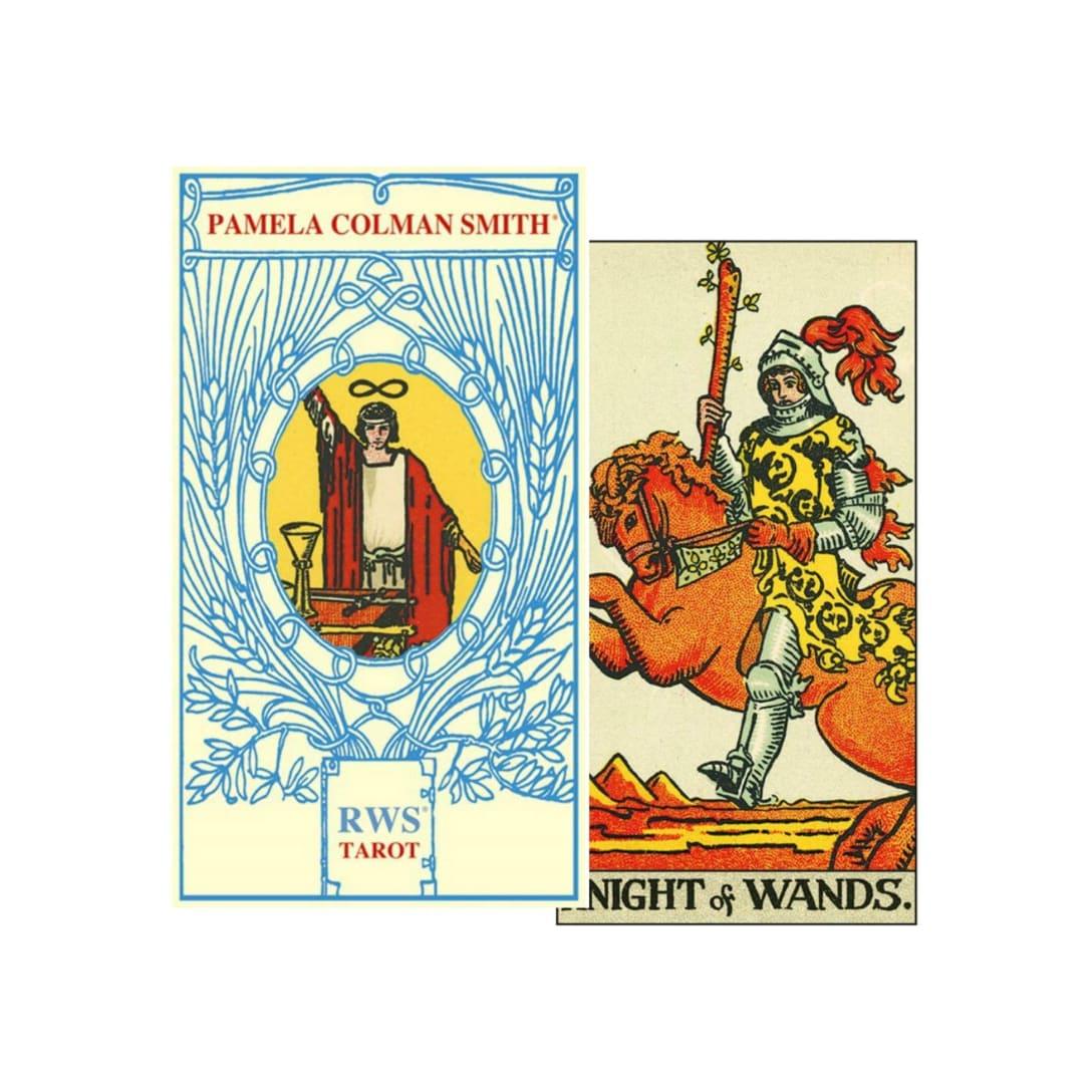 Lo Scarabeo Pamela Colman Smith RWS Tarot(W6.6xH12cm・日本語解説書付き)¥3,440