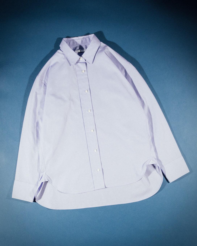 スーピマコットンオーバーサイズシャツ(長袖) ¥3,990(税別) Image by FASHIONSNAP.COM