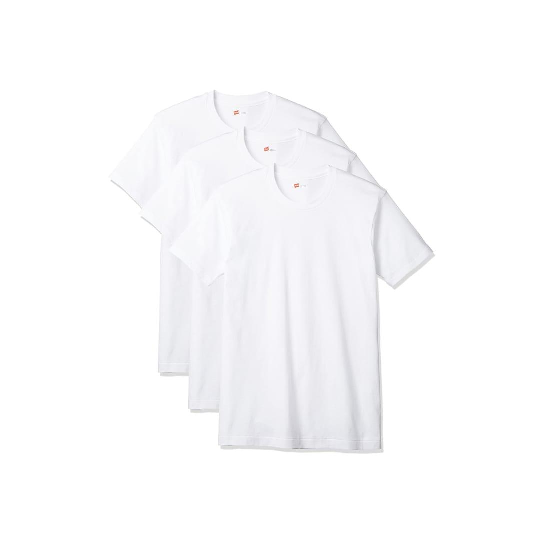 Hanes Tシャツ クルーネック(3枚セット)¥1,540〜¥3,580
