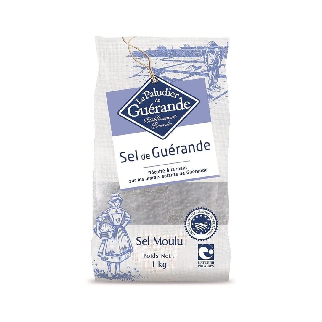 Le Paludier de Guérande ゲランドの塩 あら塩(1kg) ¥1,408