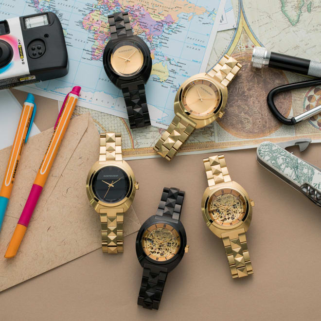new product 8f07c 0e3e5 インディペンデントとコラボ、ドレスキャンプが腕時計で表現した ...
