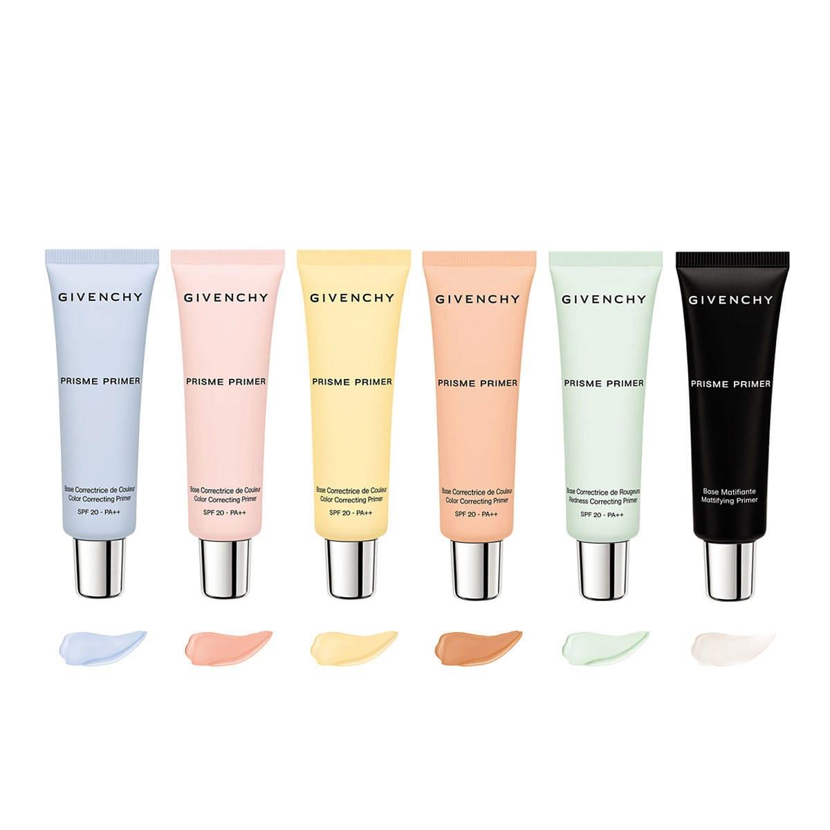 ジバンシイ、肌色や悩みに合わせて選べる6色の化粧下地を発売
