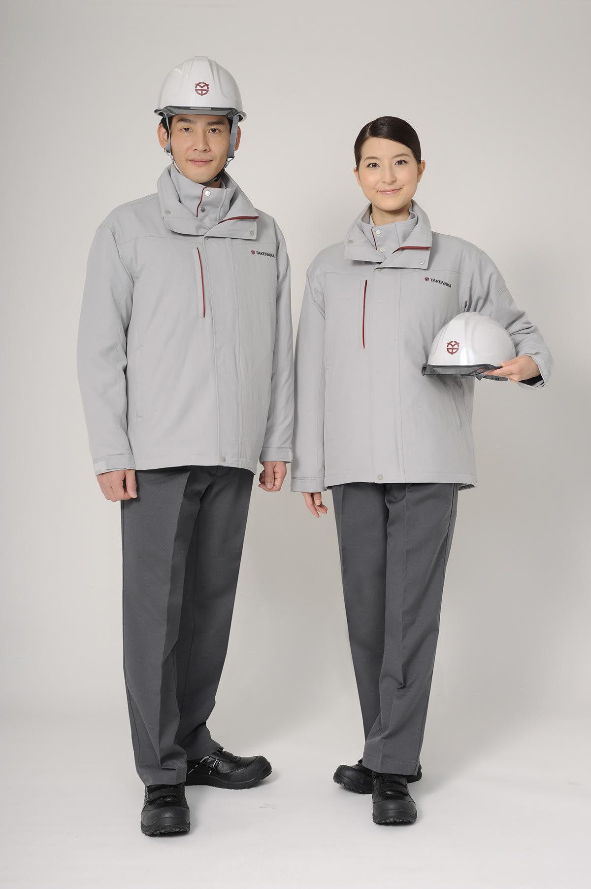 竹中工務店が26年ぶりに作業服を全面刷新、初の女性用サイズも