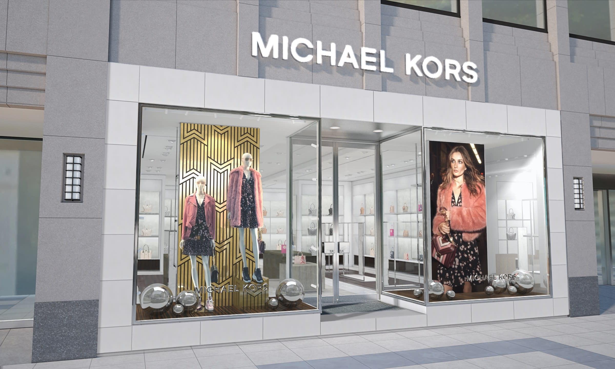 054c3bf39c73 「マイケル・コース(MICHAEL KORS)」が、大阪御堂筋に路面店「マイケル・コース心斎橋」を12月24日にオープンする。