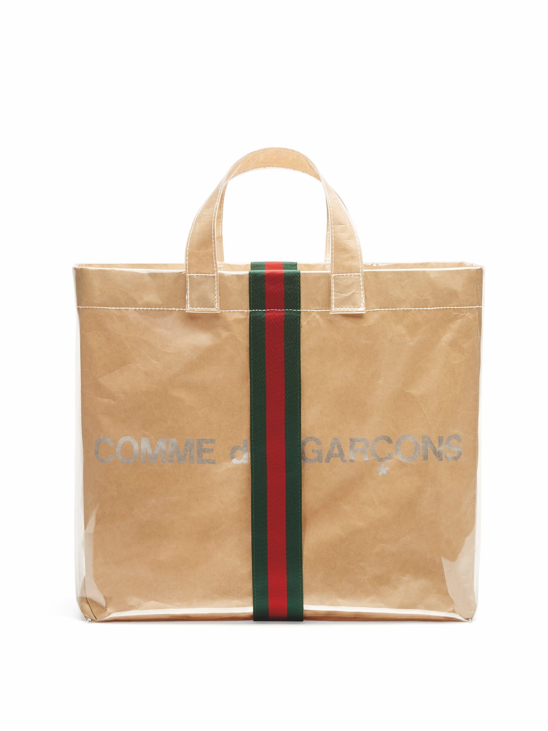 80b9f1a87e44 「コム デ ギャルソン(COMME des GARÇONS)」が、「グッチ(Gucci)」とコラボレーションしたバッグ を発売した。11月23日に先行販売した日本のコム デ ギャルソンと ...