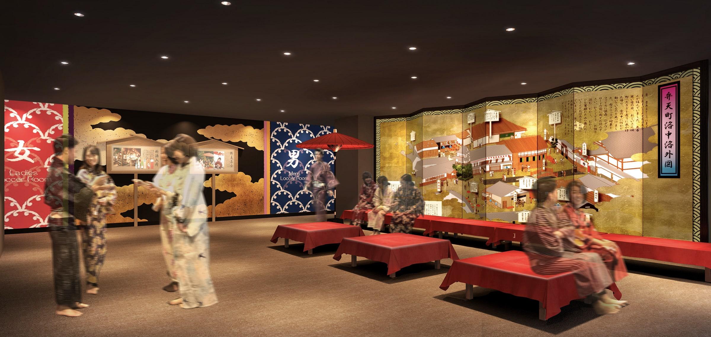 e71f182dec2d3 関西最大規模の温泉型テーマパークが大阪に誕生、安土桃山時代をイメージ ...