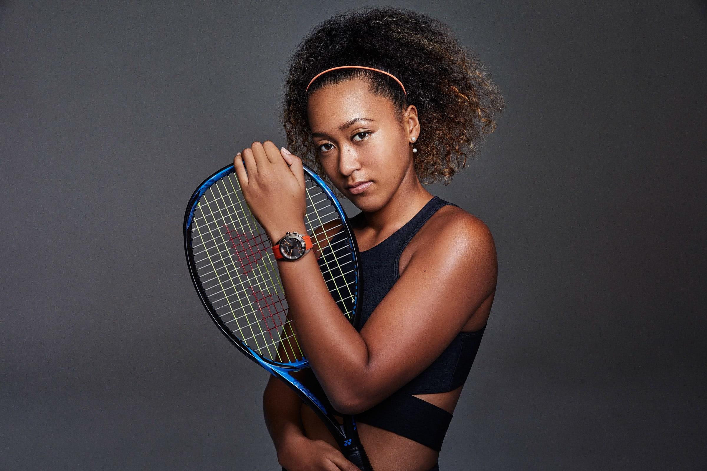 cb425ae90e シチズン時計が、ブランドアンバサダーを務めているプロテニスプレーヤー大坂なおみ選手が1月15日開幕の全豪オープンテニスの試合で着用するアナログ腕時計「シチズン  ...