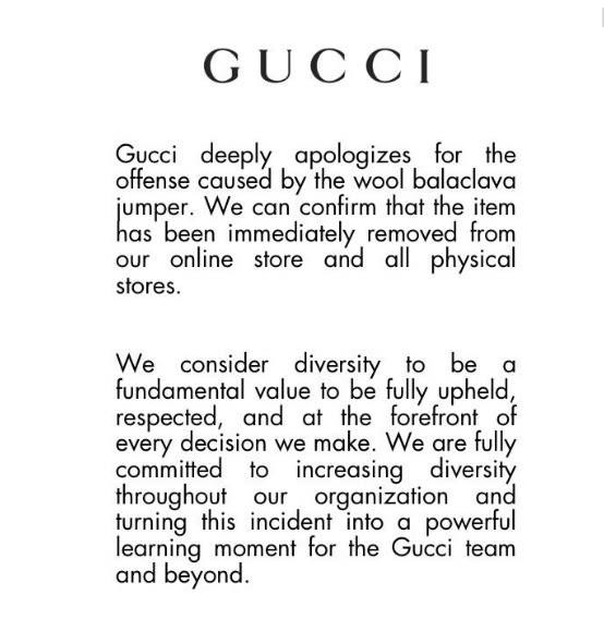 1106e551c55d 「グッチ」の口元を覆うセーターが黒人差別的表現と批判受け販売中止、ツイッターで謝罪