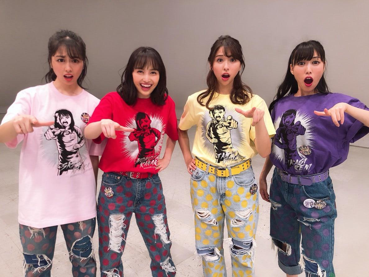 トーキョー カルチャート by ビームスで、アイドルグループのももいろクローバーZと漫画家  楳図かずおによるコラボレーションTシャツの受注販売がスタートした。