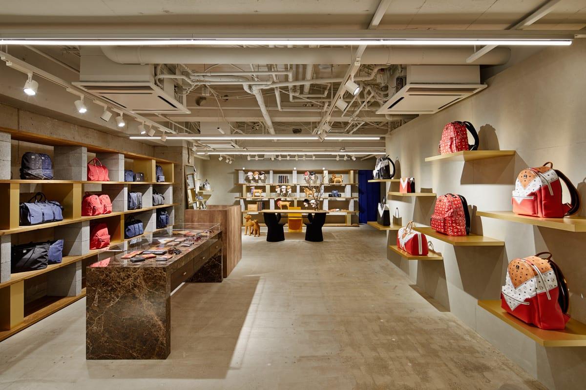 timeless design dcb1d b0cc5 MCM」銀座の旗艦店がリニューアル、ショールームやカフェを併設 ...