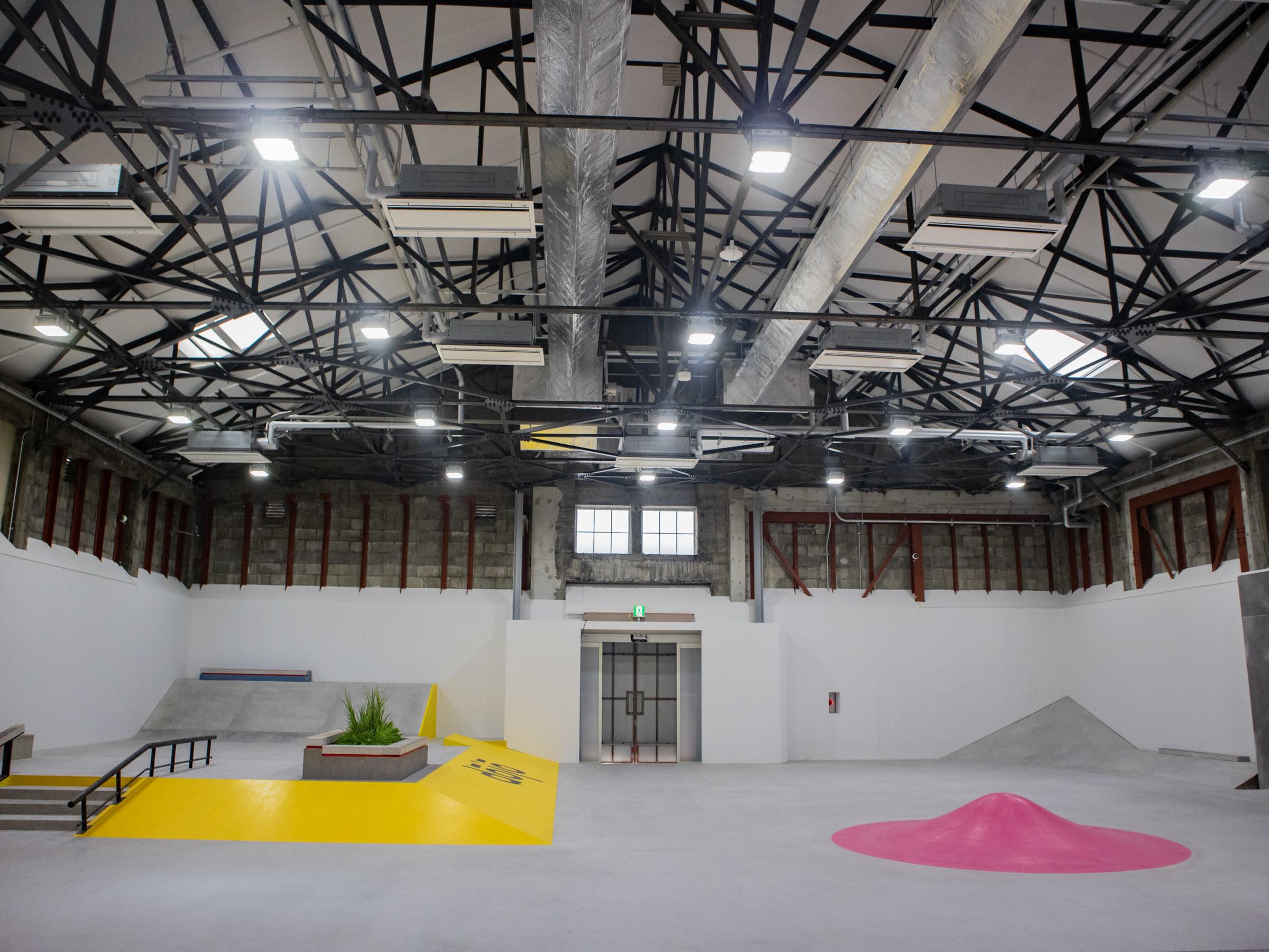d20df4fe5b58e ナイキ SBのスケートパーク「Nike SB dojo」でスケートコミュニティーを ...