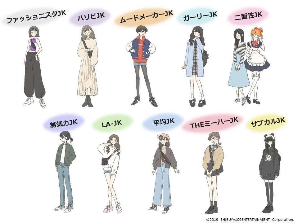 Top 100 Jk ファッション , Irasutoya