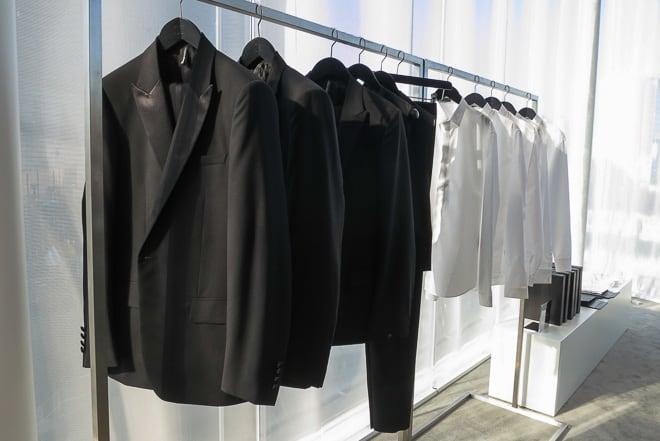 buy online cdd65 8a2b3 ディオール オム、アジア初のオーダースーツを銀座で開始