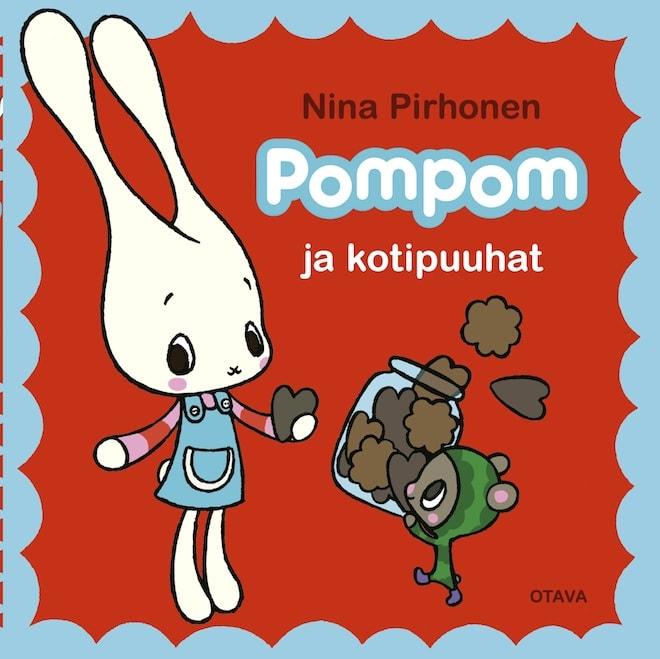 マリメッコのデザイナーによるしかけ絵本pompom発売