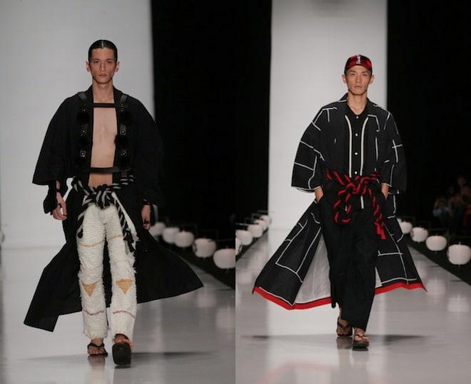 動画】ロシアで日本の「粋」を表現 メンズ13ブランドが合同ショー