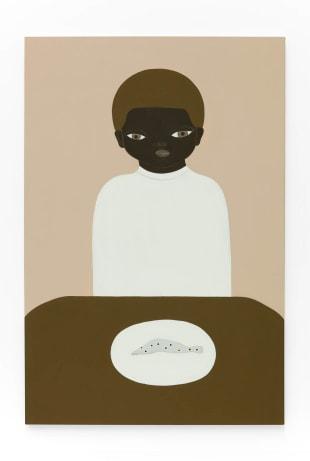 Asuka Anastacia Ogawa Peixe, 2020 Acrylic on canvas 72 x 48 inches (182.9 x 121.9 centimeters)