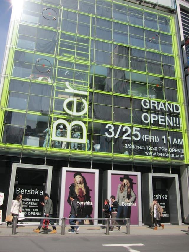 ZARA姉妹ブランド「ベルシュカ」オープンは3月25日に決定