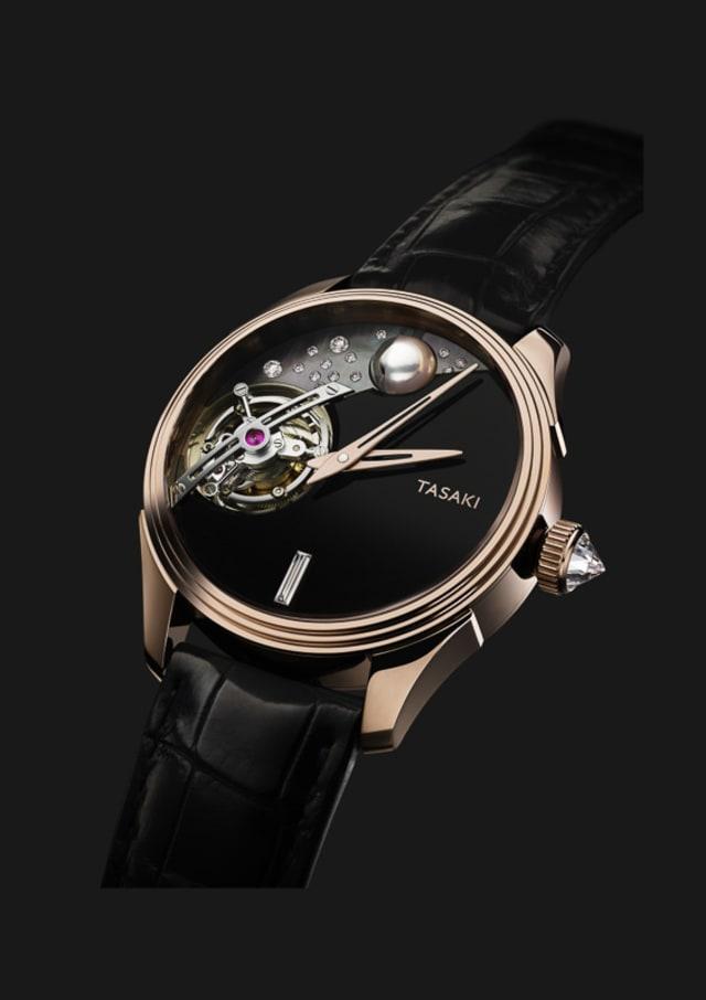 reputable site c7feb d27a2 TASAKIが高級腕時計市場に参入 浅岡肇によるトゥールビヨンも