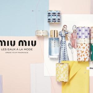 「MIU MIU」ケースをカスタマイズできるフレグランスコレクションを発売