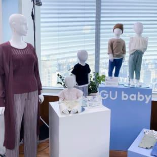 gu baby 展示会