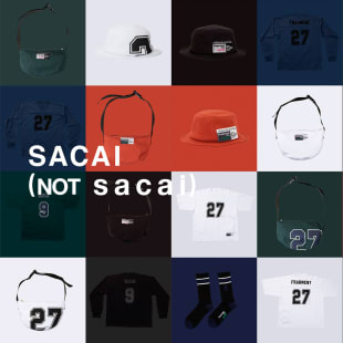 sacai  fragment design
