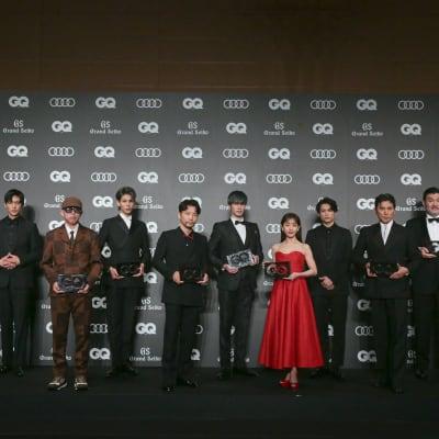 GQ 授賞式